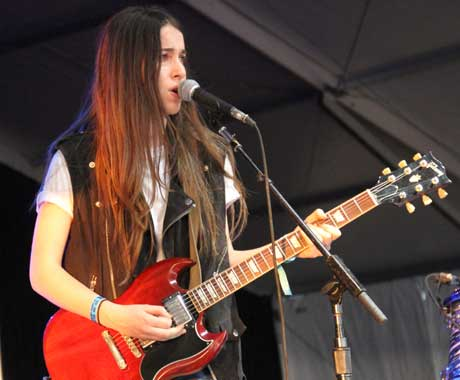 Haim - That Tent, Manchester TN, June 13