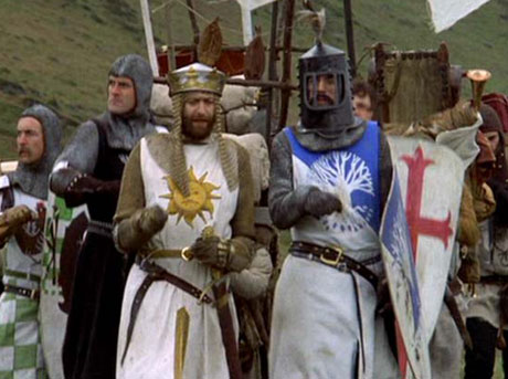 Monty Python and the Holy Grail [Blu-Ray]Terry Gilliam and Terry Jones