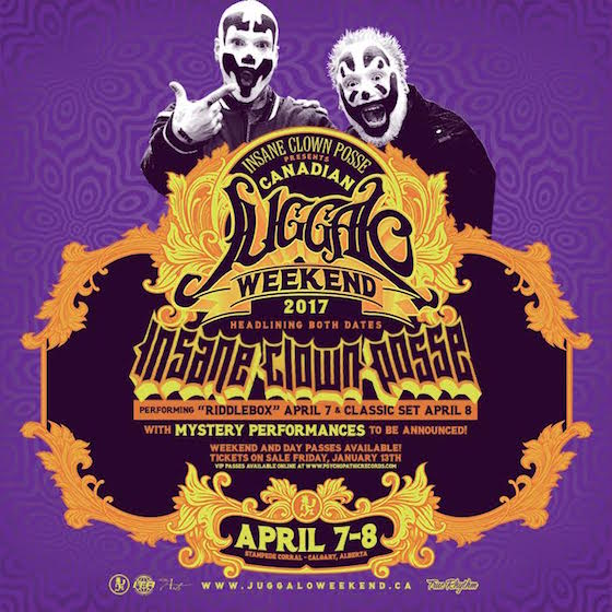Insane Clown Posse Are Launching a Canadian Version of the Gathering in Calgary