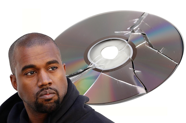 Kanye West Won't Be Releasing Music on CD Anymore