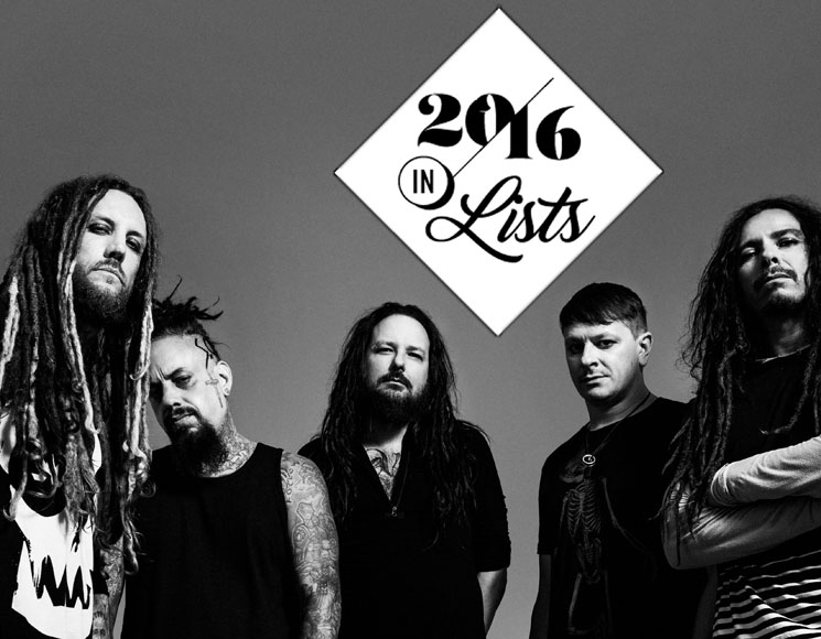 Nu Metal Jumps Da Fuck Up (Again); Return of Korn Leads This 'Serenity of Suffering'2016 in Lists