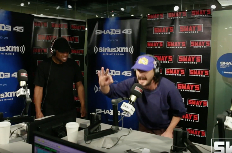 Shia Labeouf Throws Down Mean Freestyle Rap on Sway in the Morning