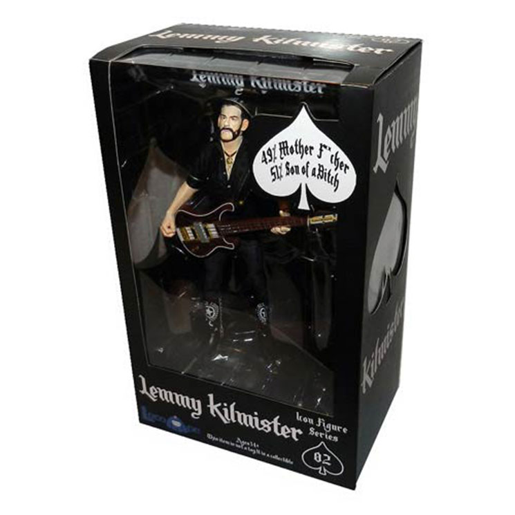 Motörhead's Lemmy Action Figure to Be Reissued