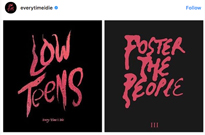 Every Time I Die Call Out Foster the People for Their Suspiciously Similar Artwork