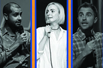Noor Kidwai, Camille Cote and D.J. Demers Talk About Other People at a Comedy Records/Exclaim! Standup Showcase