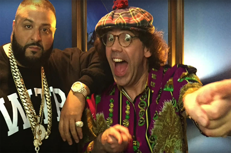 Nardwuar the Human Serviettevs. DJ Khaled