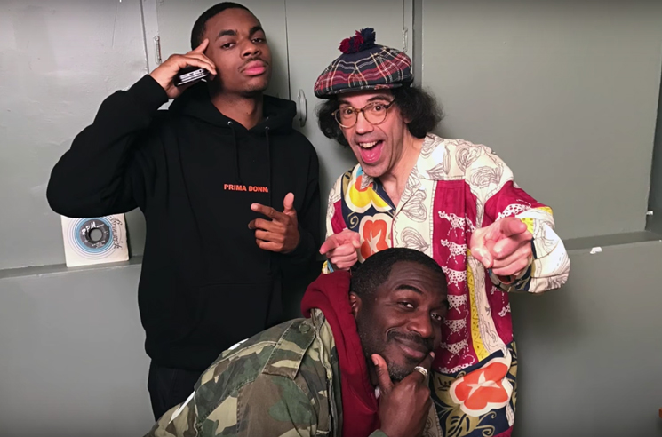 Nardwuar the Human Serviette vs  Vince Staples