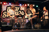 """New Swears """"Dance with the Devil"""" / """"Midnight Lovers"""" / """"Two Darts""""  (Live) on No Future"""