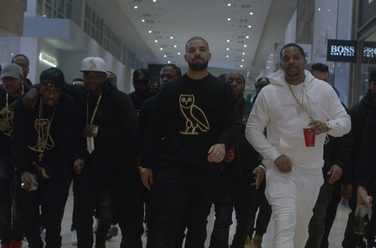 Drake Drove a Cadillac Through a Toronto Mall to Celebrate ...