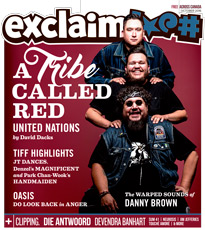A Tribe Called Red, Oasis, Danny Brown and TIFF Fill Exclaim!'s October Issue