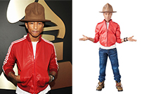 Pharrell and His Big Ol' Hat Get Immortalized with Action Figure