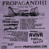Propagandhi Map Out North American Tour