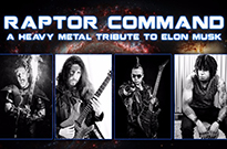 Raptor Command Are the World's First Elon Musk Heavy Metal Tribute Band
