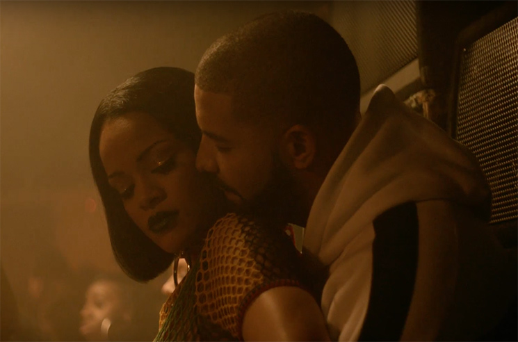"Rihanna and Drake Tease ""Work"" Video with New Clip"