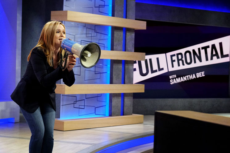 "'Full Frontal with Samantha Bee' Under Fire for Mistakenly Mocking Cancer Patient's ""Nazi Haircut"""