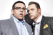 Simon Pegg and Nick Frost Reunite for Comedy-Horror Film 'Slaughterhouse Rulez'