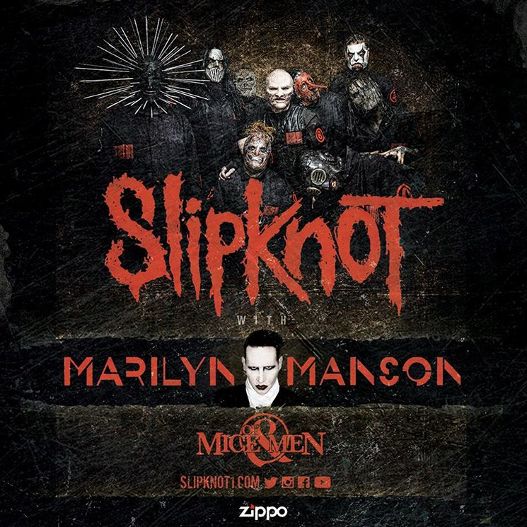 Slipknot, Marilyn Manson and Of Mice & Men Announce North American Tour