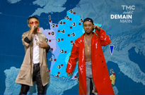 Watch Rae Sremmurd Deliver a Weather Forecast on French Television