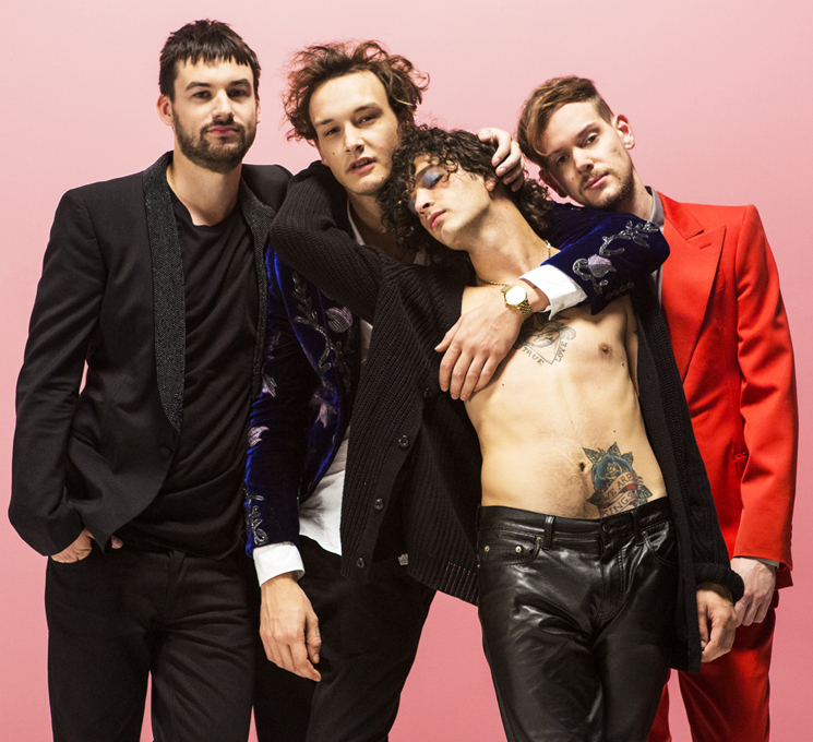 The 1975 Achieve Rock'n'Roll Self-Awareness