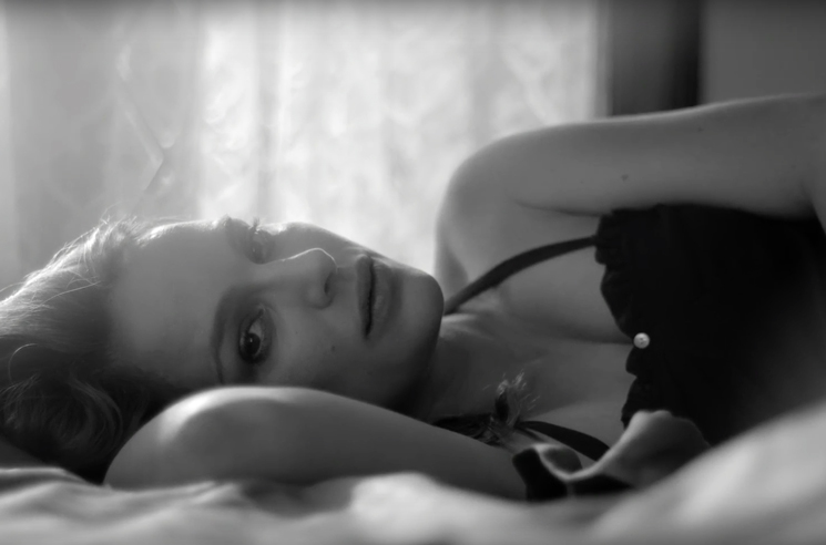 Natalie Portman stars while pregnant in James Blake music video