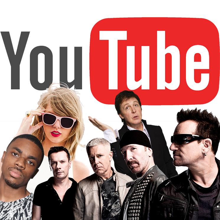 The Beatles Polska: Paul McCartney, U2, Taylor Swift przeciwko serwisowi YouTube