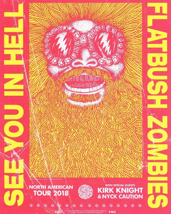 Flatbush Zombies Take Vacation In Hell On North American
