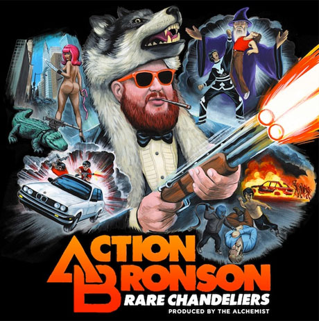 Action Bronson Reveals \'Rare Chandeliers\' Artwork and Tracklist