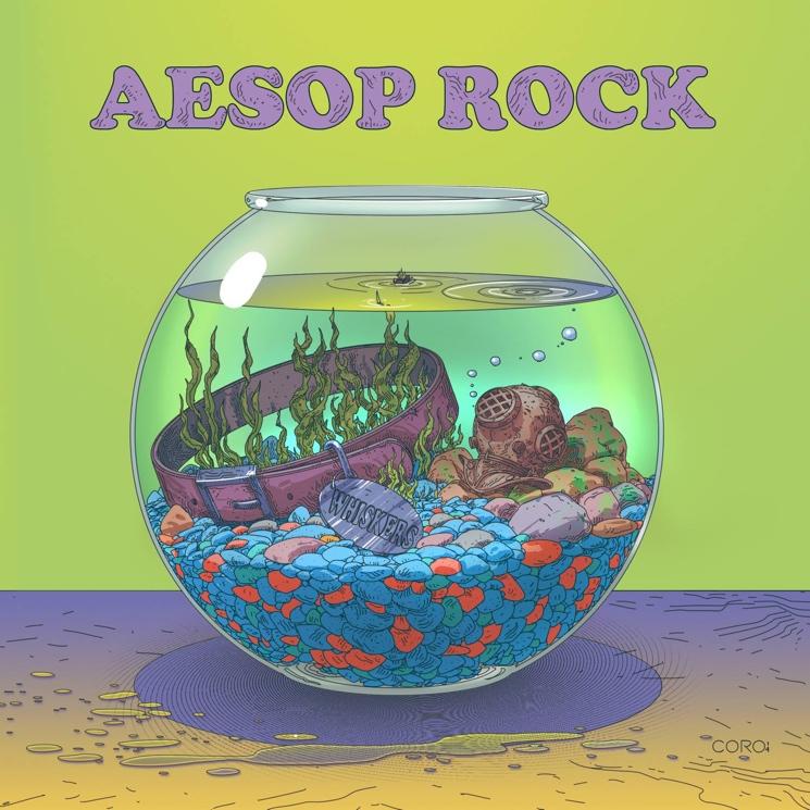Aesop Rock 'Cat Food' (EP stream)
