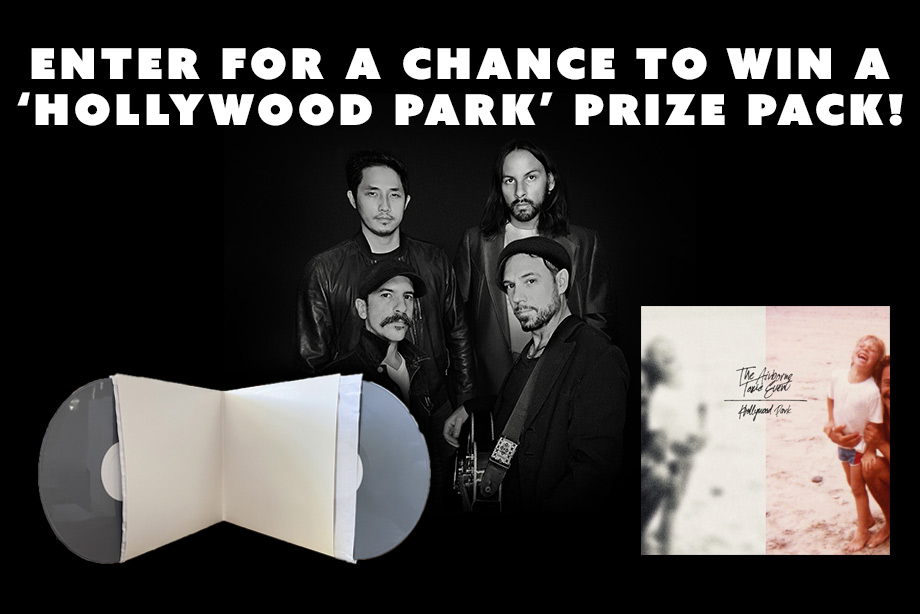 The Airborne Toxic Event – Enter for a chance to win a 'Hollywood Park' prize pack!