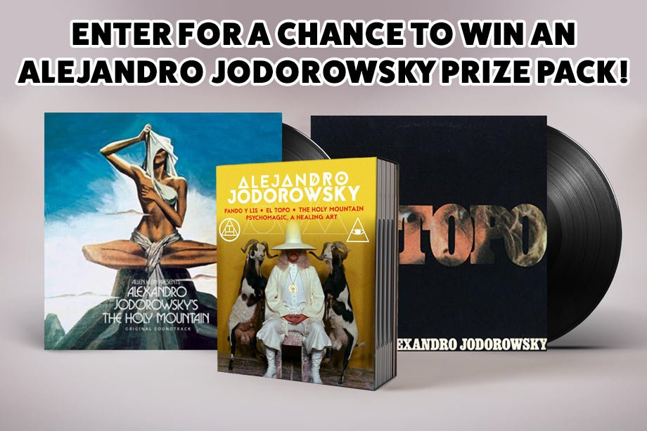 Alejandro Jodorowsky – Enter for a chance to win a 4K Collection prize pack!
