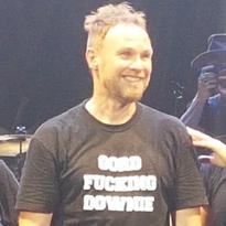 "Pearl Jam's Jeff Ament Wears Fan's ""Gord Fucking Downie"" Shirt at Barcelona Show"