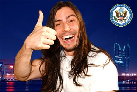 Andrew W.K. Named Cultural Ambassador to Middle East