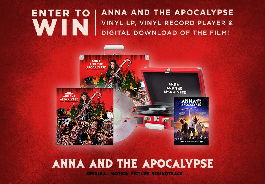 'Anna and the Apocalypse' - Win a record player, the soundtrack on vinyl and a movie download!