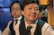 "Watch Ken Jeong Get into an Epic Lip Sync Battle in BTS & Steve Aoki's ""Waste It on Me"" Video"