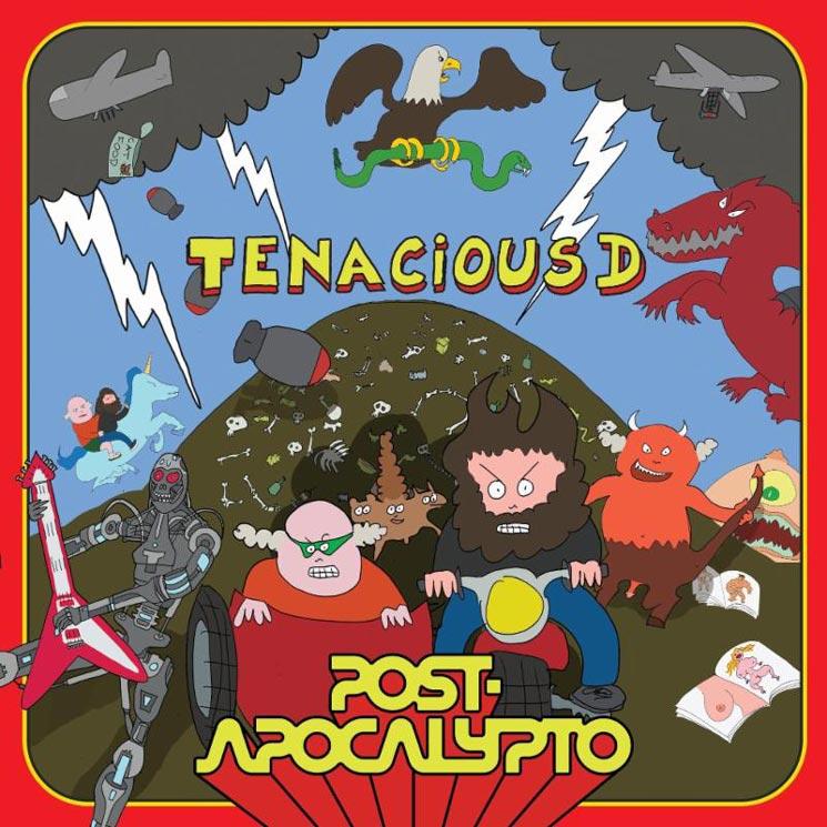 tenacious d announce postapocalypto album and animated