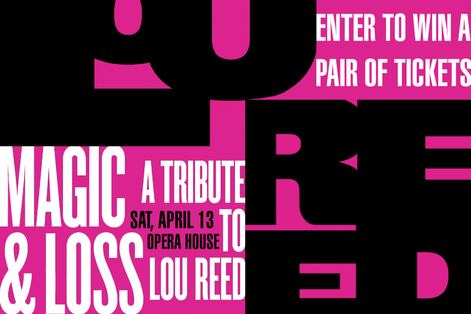 Enter to Win Tickets to Art of Time Ensemble's Tribute to Lou Reed!