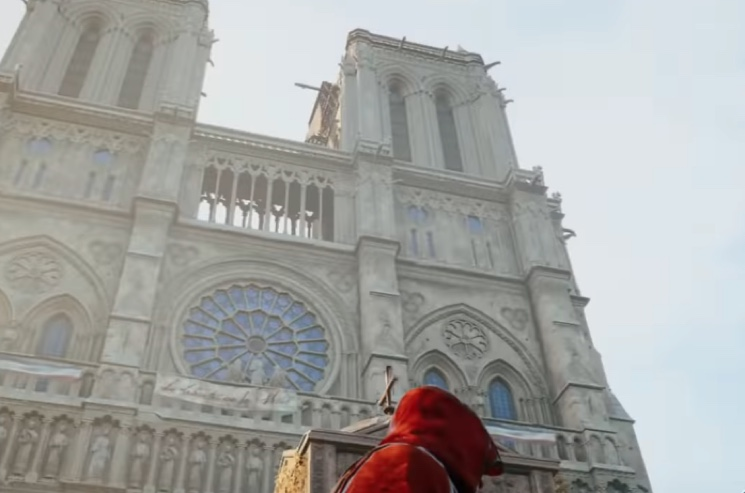 Assassin S Creed Unity Could Help Notre Dame Restoration