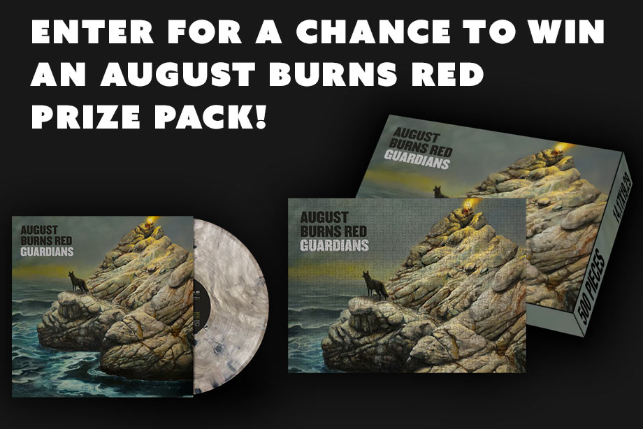 August Burns Red – Win a 'Guardians' Prize Pack!