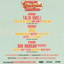 BADBADNOTGOOD, Dan Mangan, Talib Kweli to Play Phillips Backyard Weekender