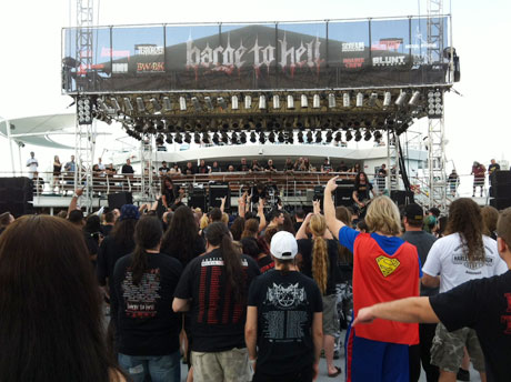 Barge to Hell featuring Enslaved, Behemoth, Sodom, MayhemMiami to Nassau, December 3-7