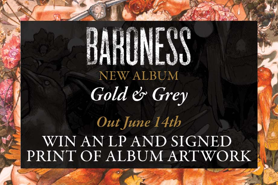 Baroness – Win 'Gold & Grey' on Vinyl and a Signed Print of the Album Artwork!