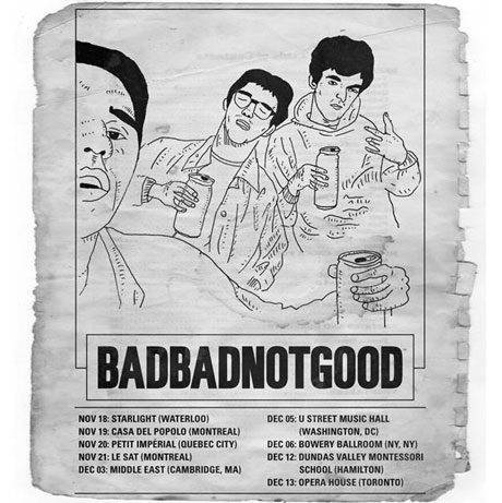 BADBADNOTGOOD Map Out More Canada/U.S. Dates