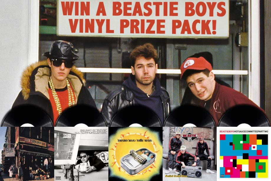 Beastie Boys - Win a vinyl prize pack!