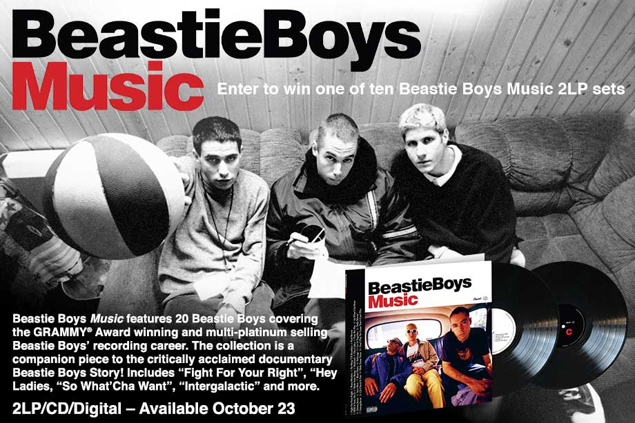 Beastie Boys – Enter for a chance to win a copy of 'Beastie Boys Music' on vinyl!