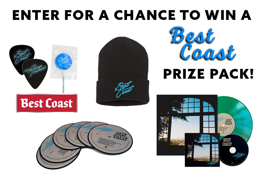 Best Coast –Enter for a chance to win an 'Always Tomorrow' prize pack!