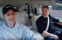 "​Watch Justin Bieber and James Corden Pretend to Drive Around on ""Carpool Karaoke"""