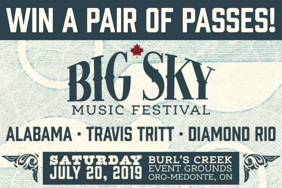 Big Sky Music Festival - Win a Pair of Passes!