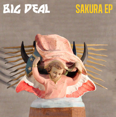 Album artwork for Big Deal's 'Sakura' EP, due July 15 and available to stream in full now, among 19 albums releasing early next week.