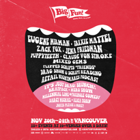 Eugene Mirman and Trixie Mattel Headline Vancouver's Big Fun! Festival