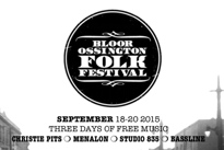 Bloor Ossington Folk Festival Announces Full Lineup, Adds Fiver, Sandro Perri, the Burning Hell